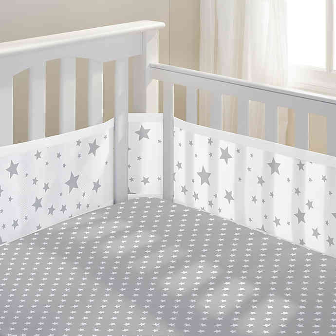 Breathable Baby Mesh Bumper - Happy Baby