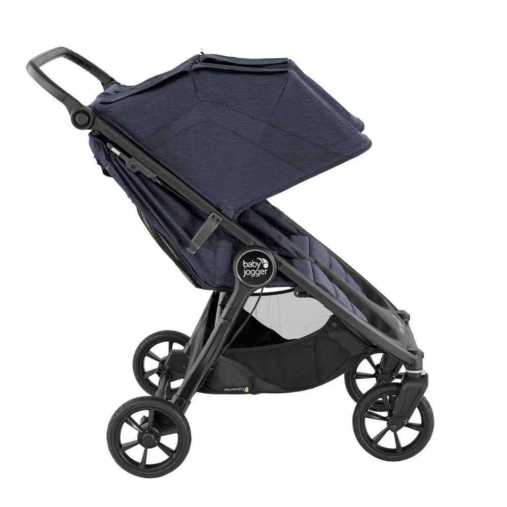 Baby Jogger City Mini Double GT2 - Includes Double Rain Cover - Happy Baby