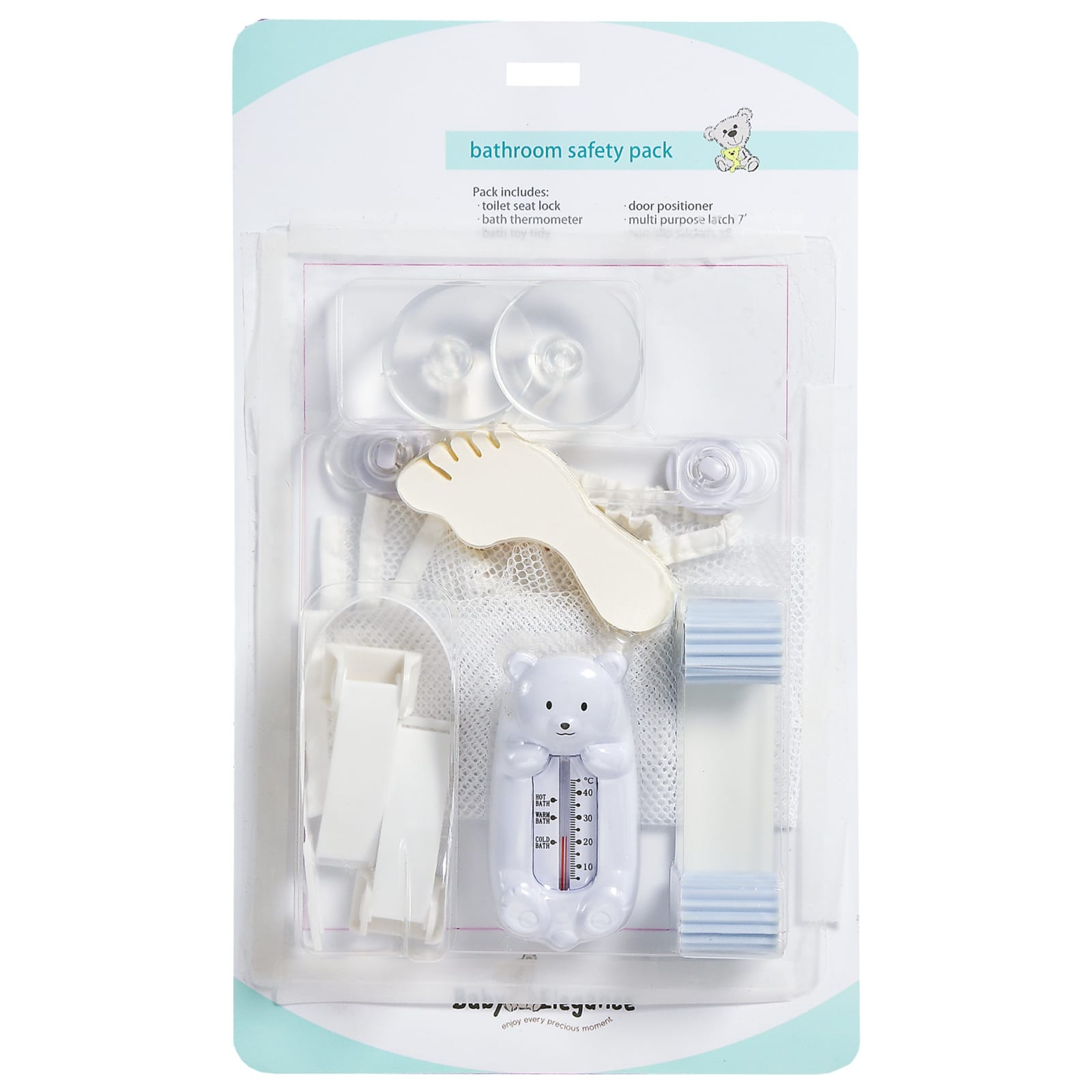 Baby Elegance Home Safety Bathroom Pack - Happy Baby