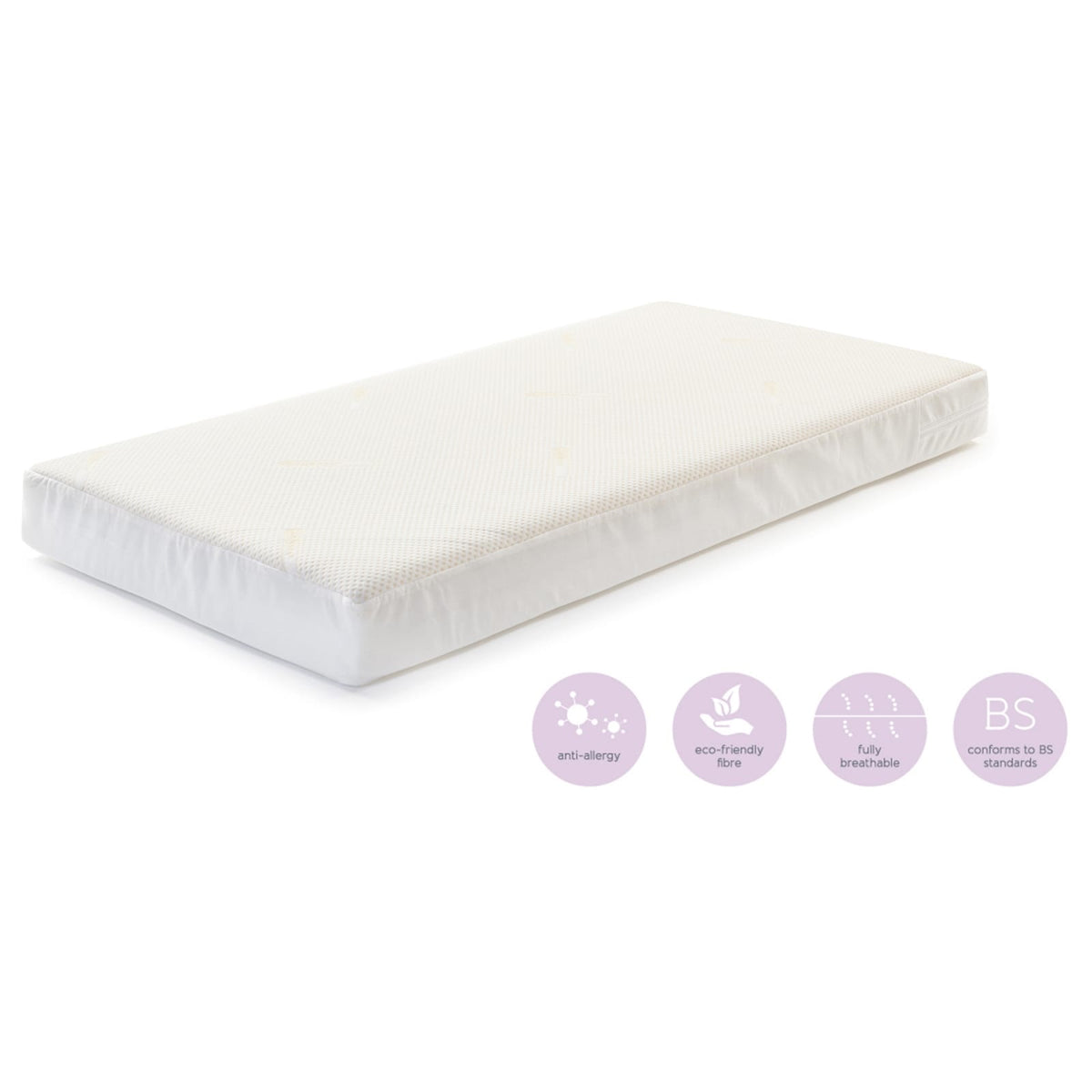 Coolmax Fibre Cot Mattress 60 x 120 cm - Happy Baby