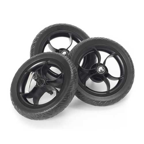 "Out 'N' About Nipper Single EVA 10"" Wheel Set - Happy Baby"