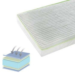 Micro Fibre Cot Bed Mattress 70 x 140 cm - Happy Baby