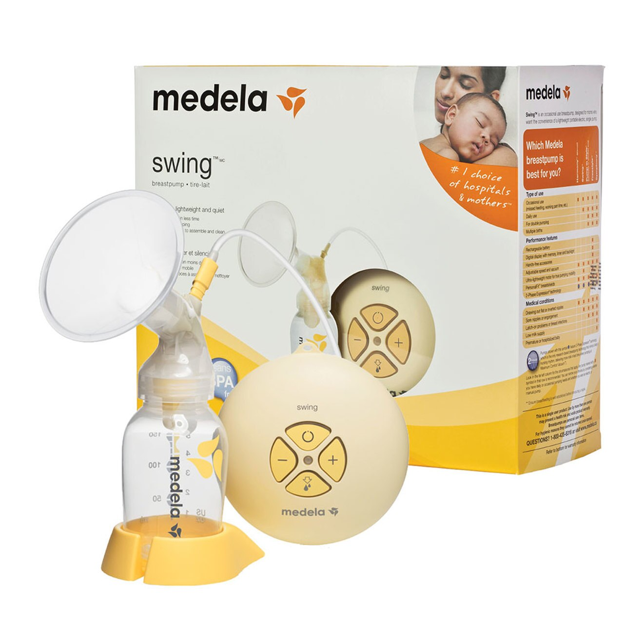 Medela Swing Electric Breast Pump - Happy Baby