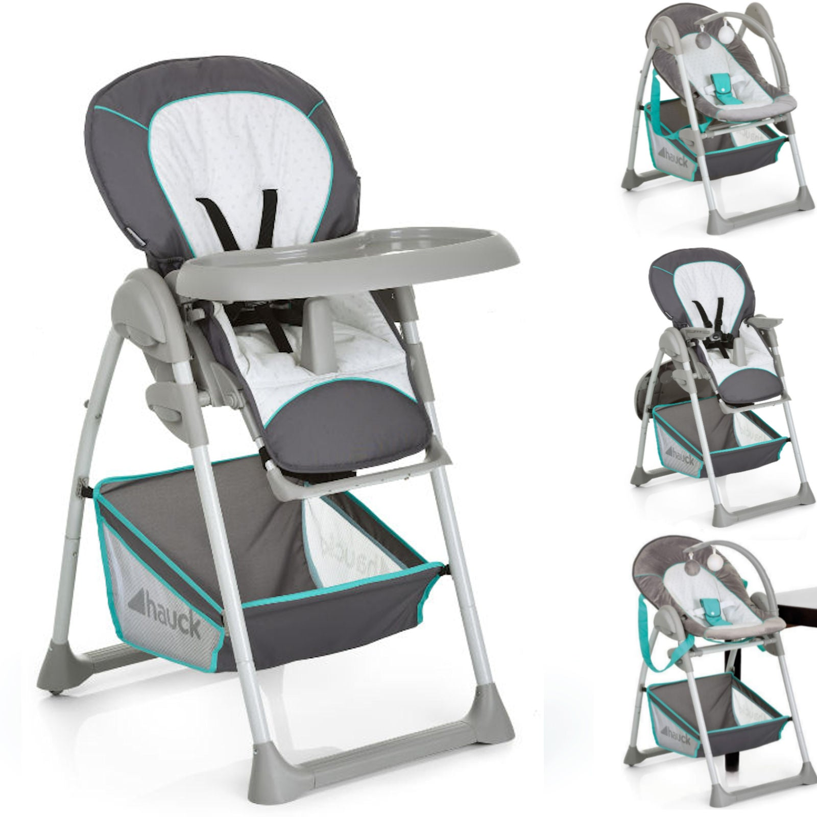Hauck Sit N Relax Highchair - Hearts - Happy Baby