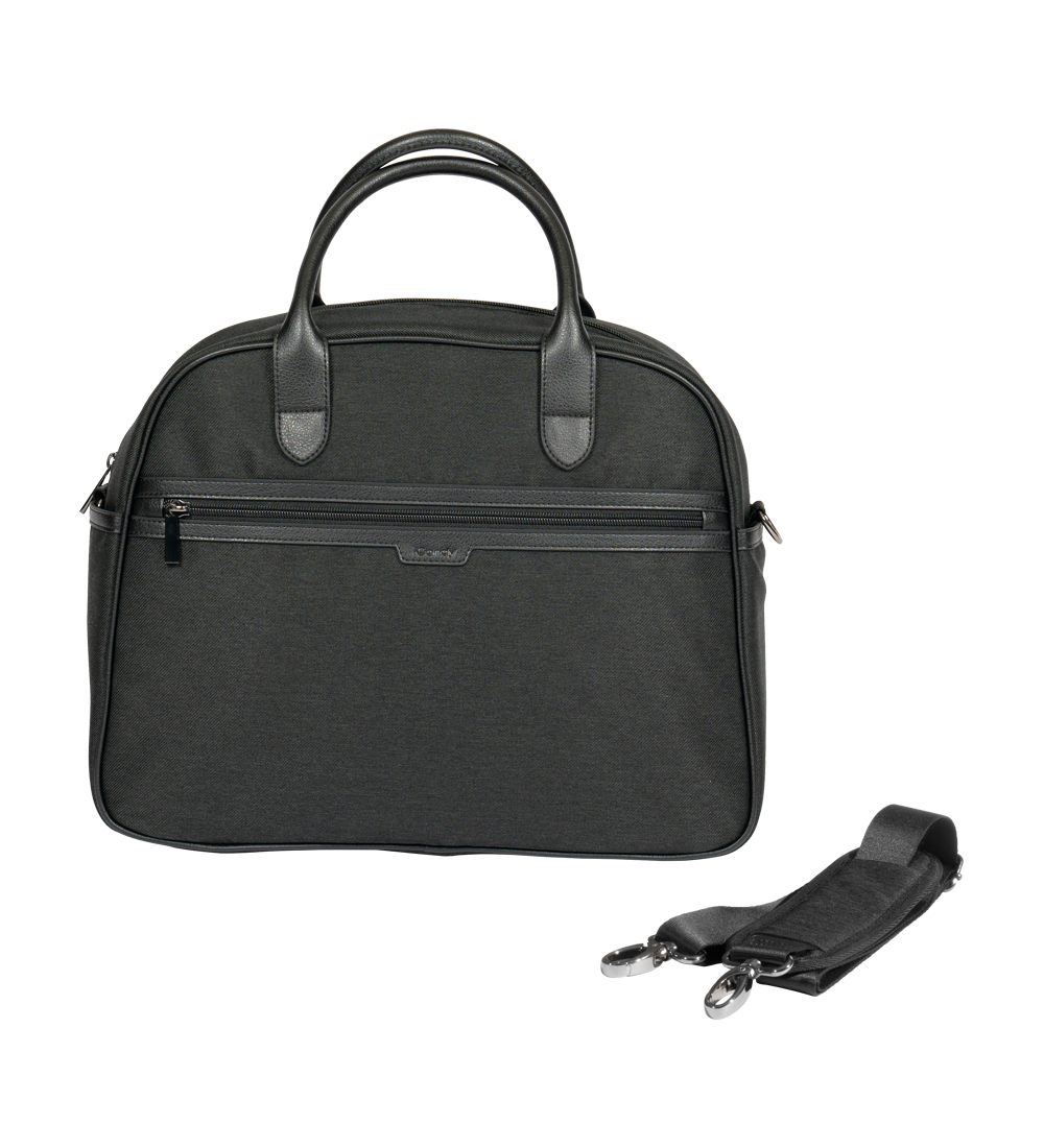 ICandy Peach Changing Bag Black Twill - Happy Baby