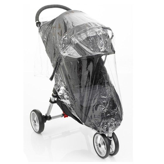 Baby Jogger City Mini2 & GT2 Raincover - Single - Happy Baby