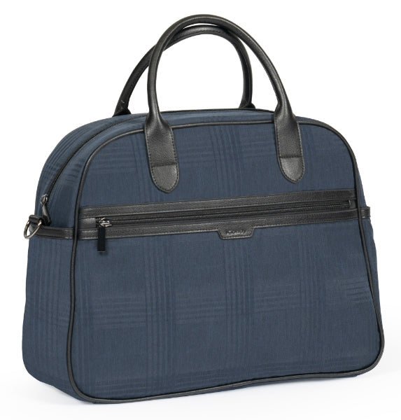 iCandy Peach Changing Bag Navy Check - Happy Baby