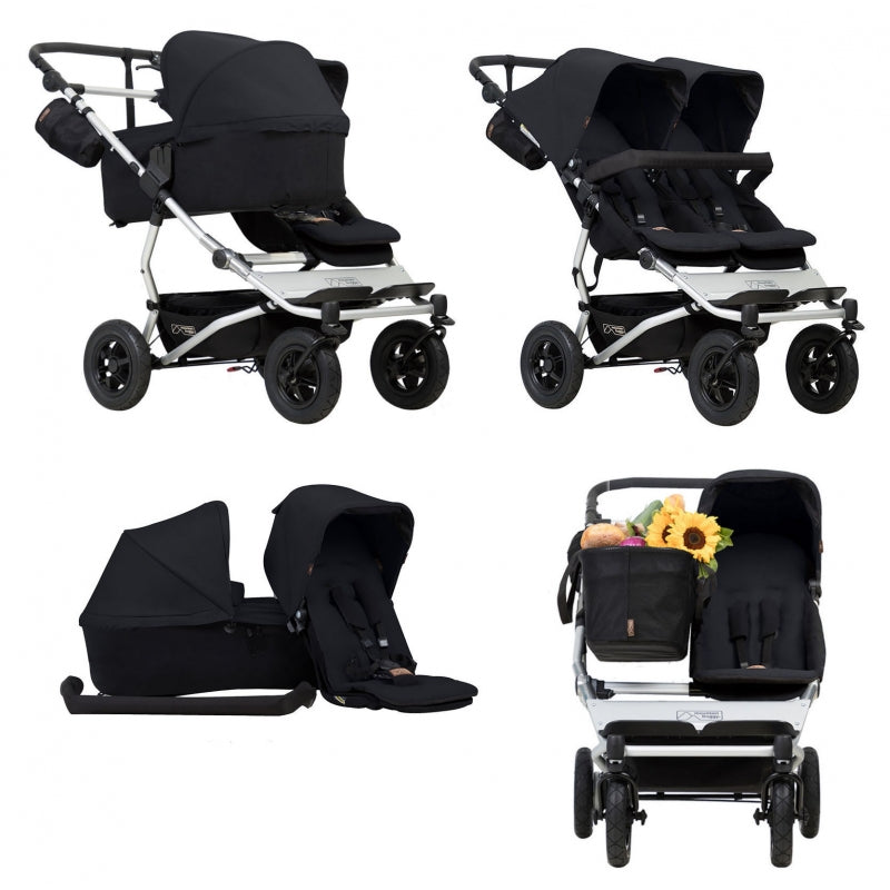 Mountain Buggy Duet Family Pack - Happy Baby