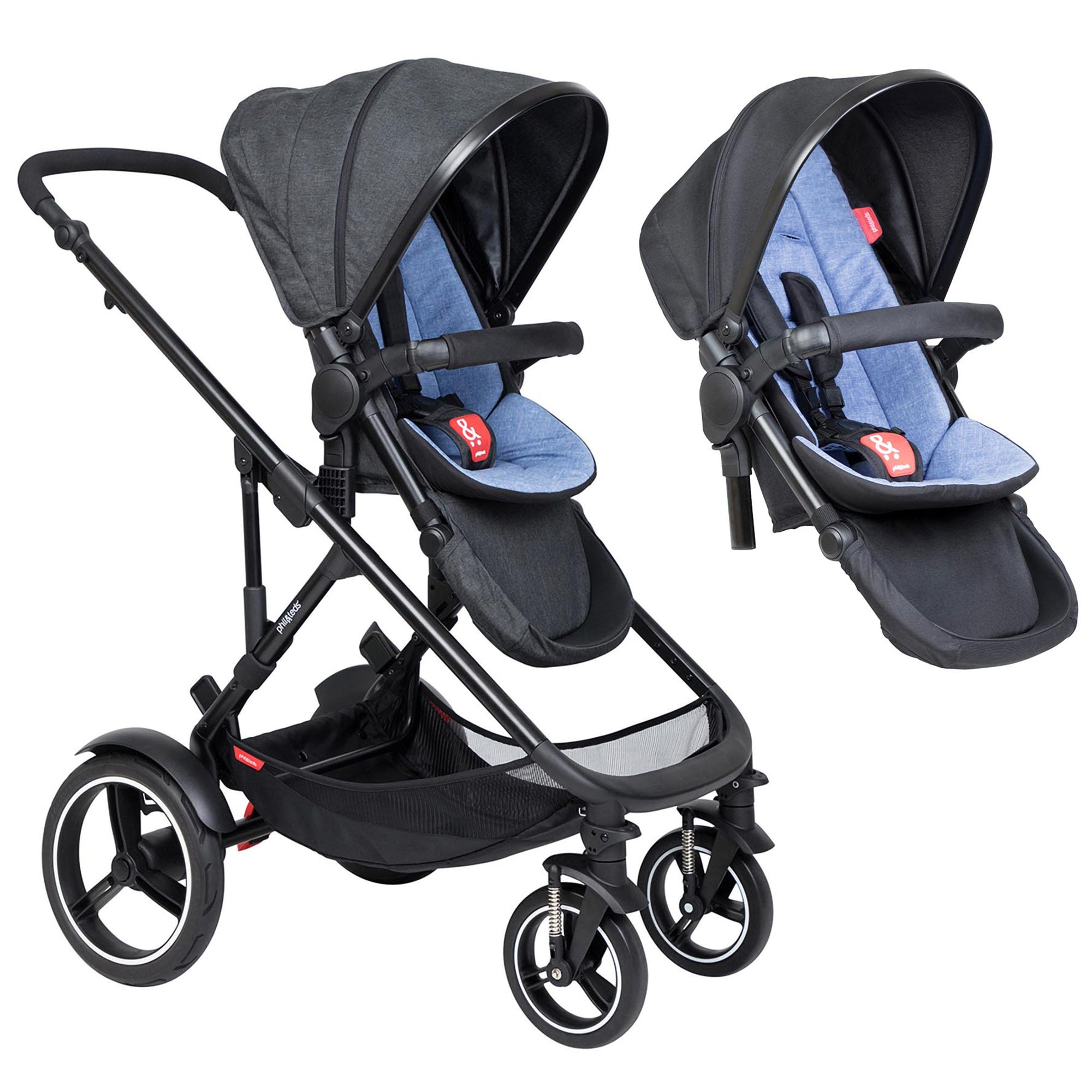 Phil & Ted Voyager Pushchair - Happy Baby