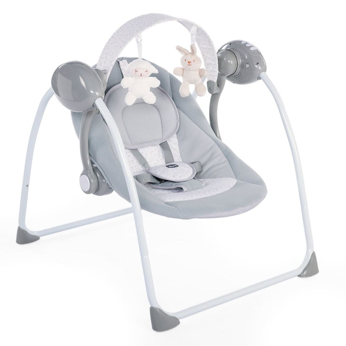 Chicco Swing - Relax & Play Cool Grey - Happy Baby