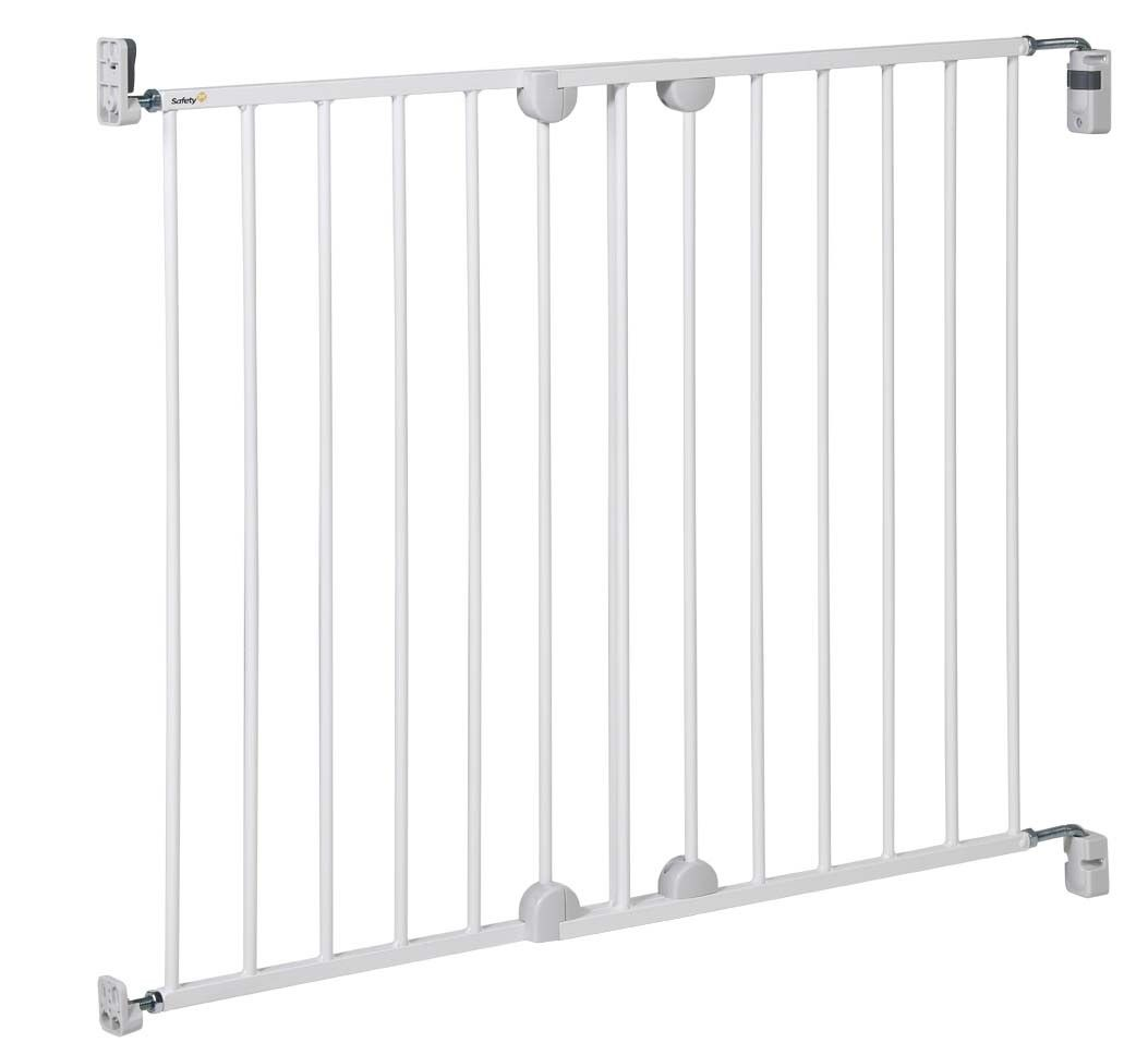 Safety 1st Wall-Fix Stair Gate White Metal - Happy Baby