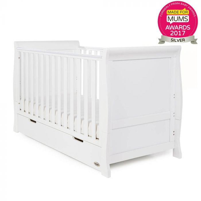 Stamford Sleigh Classic Cot Bed - Happy Baby