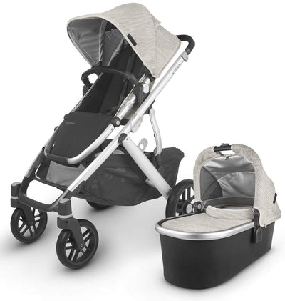 Uppababy Vista V2 with Mesa & Base Bundle - Happy Baby