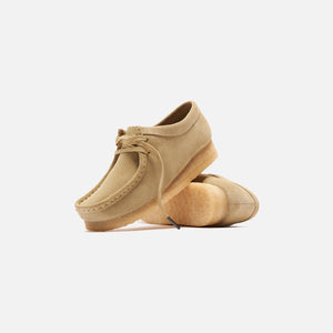 Clarks Suede Wallabee - Maple