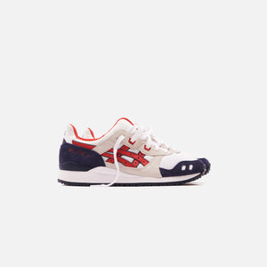 Asics Gel-Lyte III OG - White / Classic Red