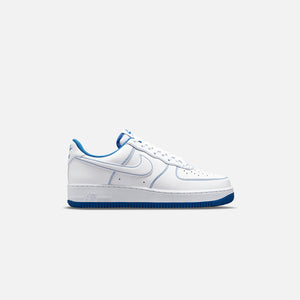 Nike Air Force 1 Stitch - White / Game Royal