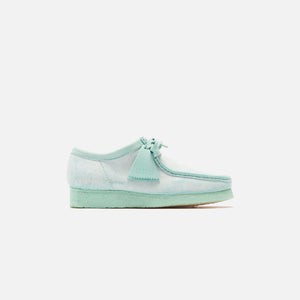 Clarks Suede Wallabee - Mint Chalky
