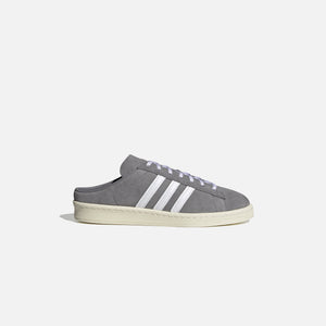 adidas Campus 80s Mule - Grey / Cloud White / Off white