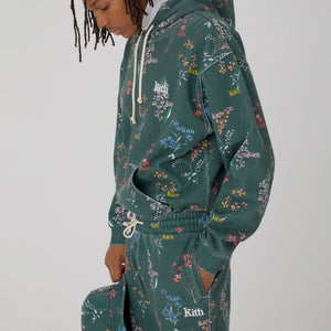 Kith Botanical Floral Williams III Hoodie - Stadium