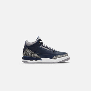 Nike Grade School Air Jordan 3 Retro - Midnight Navy / White / Cement Grey