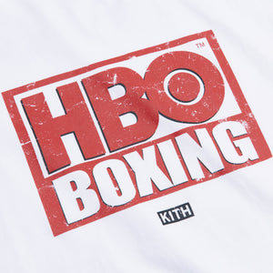 Kith for HBO Boxing Vintage Tee - White