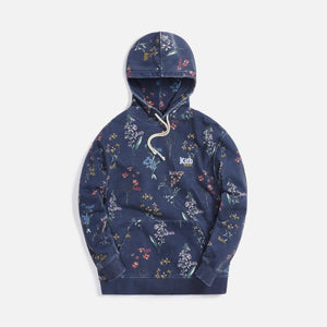 Kith Botanical Floral Williams III Hoodie - Nocturnal