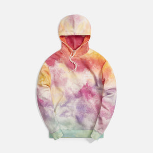 Kith Tie Dye Williams III Hoodie - Pink / Green