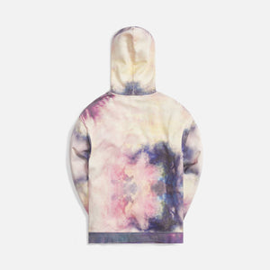 Kith Tie Dye Williams III Hoodie - Purple / Pink