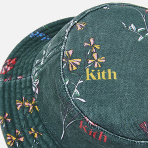 Kith Botanical Floral Bucket Hat - Stadium
