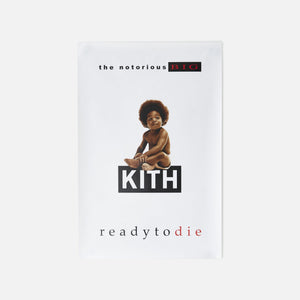 Kith for The Notorious B.I.G Ready To Die Poster - White