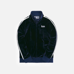 Kith Kids Velour Track Jacket - Shark