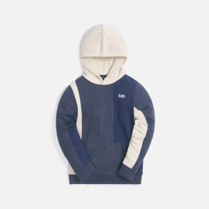 Kith Kids Blocked Williams Hoodie - Shark Multi