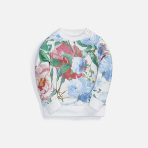 Kith Kids Baby Floral Crew - Tofu Multi