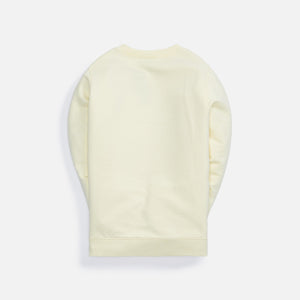 Kith Kids Sunwashed Classic Crew - Yellow