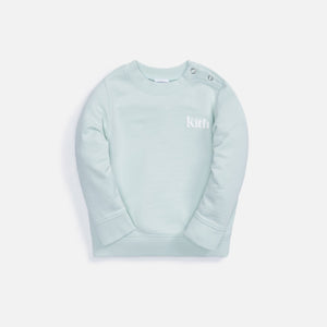 Kith Kids Baby Sunwashed Classic Crew - Teal