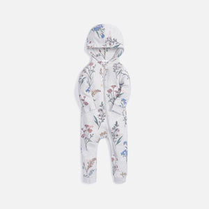Kith Kids Baby Botanical AOP Coverall - Grey Multi