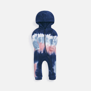 Kith Kids Baby Tie Dye Coverall - Blue / Multi