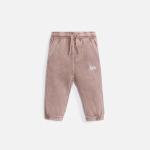 Kith Kids Baby Classic Serif Williams Pant - Dusty Mauve