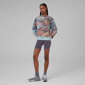Kith Women Death Valley Asher Crew - Multi Print