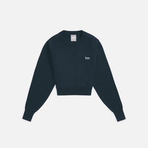Kith Women Mica Cropped Sweater - Stadium