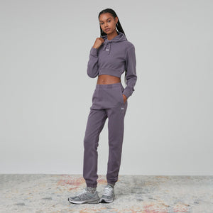 Kith Women Alexa Cropped Hoodie - Monsoon