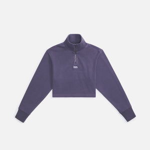 Kith Women Rae Quarter Zip II - Monsoon