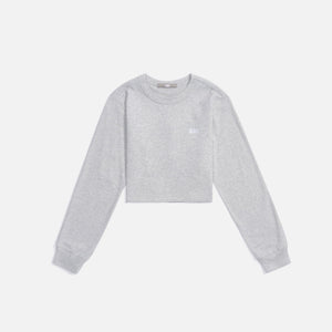 Kith Women Lucy Cropped L/S II - Pavement
