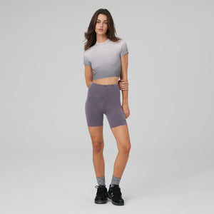 Kith Women Degrade Mulberry Tee - Sunset Degrade