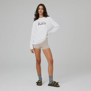Kith Women Desert Valley Sonoma LS Tee II - White