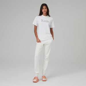 Kith Women Quartz Valley Serif Tee - White