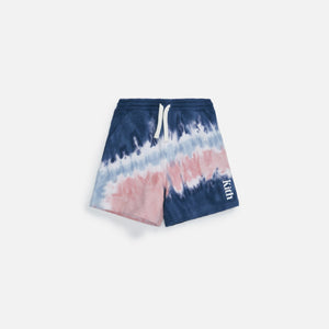 Kith Kids Tie Dye Shorts - Blue / Multi