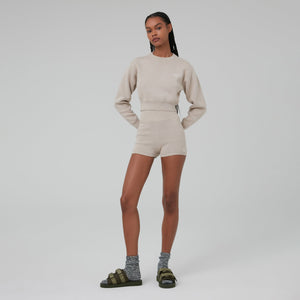 Kith Women Mica Sweater Shorts - Pyramid