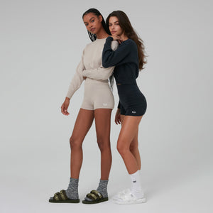 Kith Women Mica Sweater Shorts - Stadium