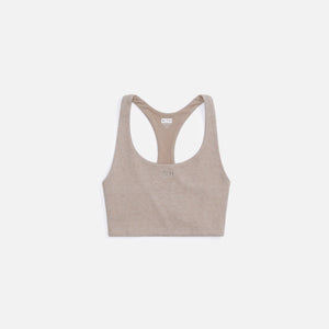 Kith Women Brie Interlock Bra Top - Coffee Heather
